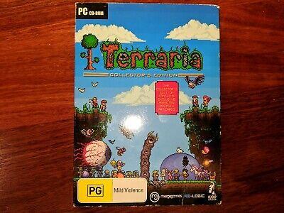 Terraria Collector's Edition - Windows PC CD-ROM Game PG Merge Games 2 Discs