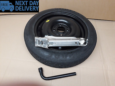 "Ford Fiesta & B-MAX 15"" Space Saver Spare Wheel 2008-2017 & JACK KIT"