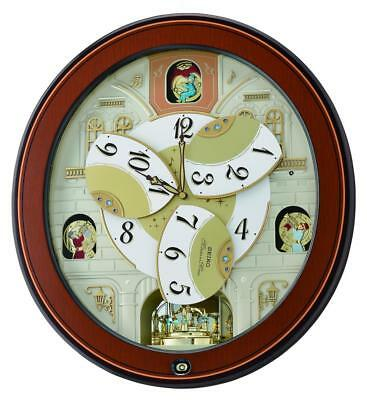 Seiko Musical Melodies in Motion Marionette Clock  QXM368B Our Price £315.95