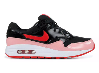 GIRLS KIDS YOUTH Nike Air Max 1 QS GS Trainers Shoes Black