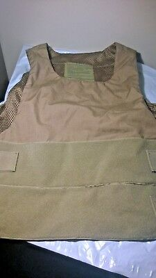 USMC Safariland Body Armor Carrier Vest Medium Regular coyote
