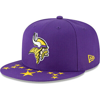 04b28707f 2019 Minnesota Vikings New Era 9FIFTY NFL Draft On Stage Snapback Hat Cap  950