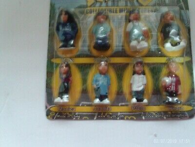 Blister Card package Complete set of 8 Mijos Hey Homies series # 3 Figures