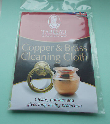 Tableau copper & brass cleaning cloth new
