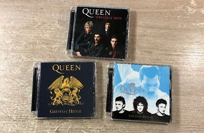 Queen Greatest Hits + Greatest Hits II  + Greatest Hits III 3CD Remastered 2011