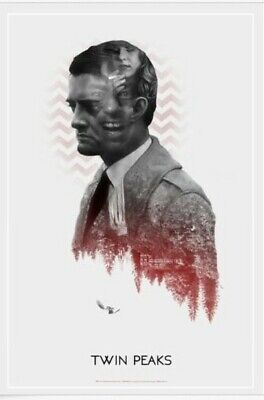 Greg Ruth TWIN PEAKS Poster SIGNED VARIANT Print Mondo David Lynch Art