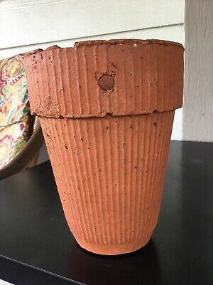 """Early1900,s """"Herty"""" Turpentine Clay Pot"""