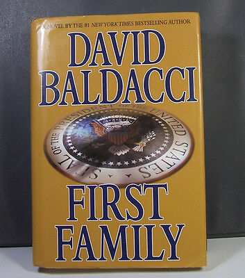 First Family by David Baldacci Thriller Paperback Hardcover