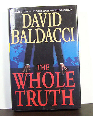 The Whole Truth by David Baldacci Thriller Hardback Hardcover
