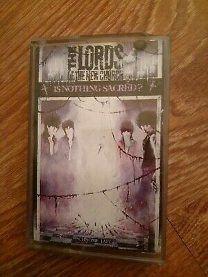 The Lords Of The New Church Is Nothing Sacred Cassette Ex Insert