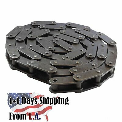1 Master Link OVERSIZED ROLLERS #C2082H  Heavy Conveyor Roller Chain 10FT
