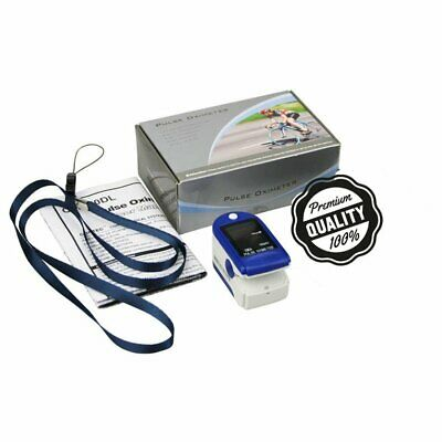 Finger Oxygen Meter Pulse Oximeter FDA Approved SpO2 Device for Blood Oxy MS