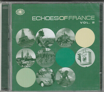 Echoes Of France Vol. 2 Factory Sealed BRAND NEW 2XCD Free UK 1st Class P&P