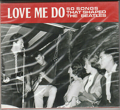 50 Songs That Shaped The Beatles F. Sealed BRAND NEW 2XCD Free 1st Class UK P&P