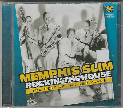 Memphis Slim- Rockin' The House Factory Sealed NEW 2XCD Free 1st Class UK P&P