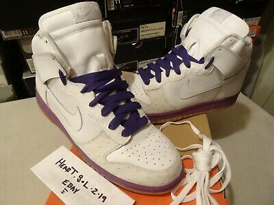 pretty nice 9b59b ebded 2005 Nike Dunk SB High Deluxe MITA OSTRICH HYACINTH PURPLE GUM 312032-111  SZ 13