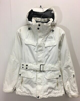 3566f60c2 THE NORTH FACE Hyvent Down Insulated Belted Jacket Womans Size Large ...