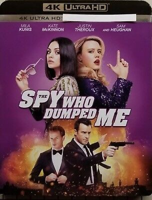 The Spy Who Dumped Me(4K Ultra Hd+Blu-Ray+Digital Hd)W/Slipcover New