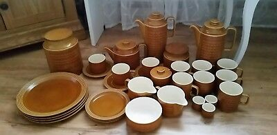 Hornsea Saffron Pottery. Side Plates. Great Condition