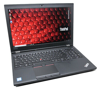 Lenovo ThinkPad P52 Workstation Laptop: 6-Core Xeon, 64GB RAM, 2x 512GB