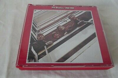 COFFRET  2  x CD ALBUM ROUGE THE BEATLES 1962 -1966