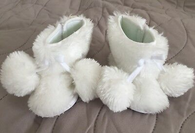 Christening/ Wedding/ Occasional Baby Shoes 0-6 months by Special Delivery