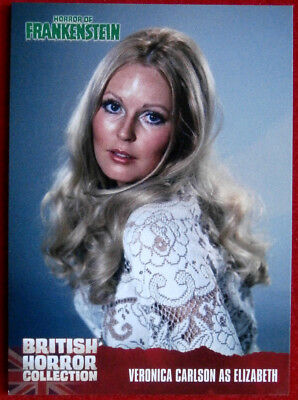 BRITISH HORROR COLLECTION - Horror Of Frankenstein - VERONICA CARLSON - Card #26