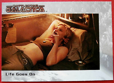 BATTLESTAR GALACTICA - Life Goes On, Katee Sackhoff - Card #68, Premiere Edition