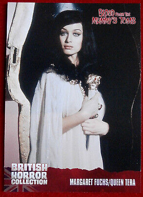BRITISH HORROR COLLECTION - Blood From The Mummy's Tomb - QUEEN TERA - Card #01