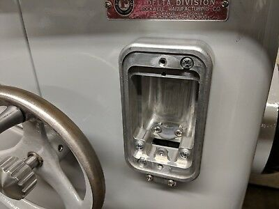 All New  Billet Aluminum Delta Switch Box - Fits Unisaw And Cast Iron Bases