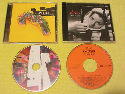The Pixies Best Of & The Smiths Singles 2 CD Albums Indie Rock