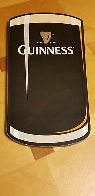 Guinness Beer Wooden Sign Wall Hanging Style Advertisement Nice! Pre-Hung