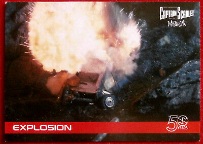 CAPTAIN SCARLET 50 YEARS - Card #09 - EXPLOSION - Unstoppable Cards 2017