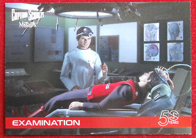 CAPTAIN SCARLET 50 YEARS - Card #03 - EXAMINATION - Unstoppable Cards 2017