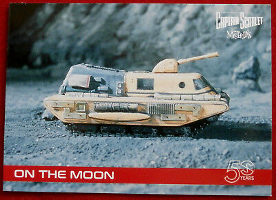 CAPTAIN SCARLET 50 YEARS - Card #18 - ON THE MOON - Unstoppable Cards 2017