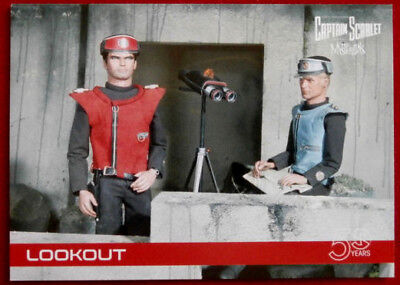CAPTAIN SCARLET 50 YEARS - Card #29 - LOOKOUT - Unstoppable Cards 2017