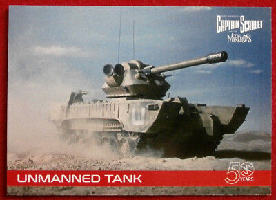 CAPTAIN SCARLET 50 YEARS - Card #14 - UNMANNED TANK - Unstoppable Cards 2017