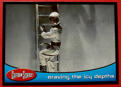 CAPTAIN SCARLET - Card #55 - Braving The Icy Depths - Cards Inc. 2001
