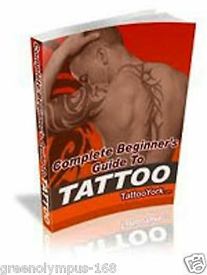 Beginner's Guide to Getting a Tattoo Ebook or CD and resell rights ++++