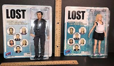 """LOST 8/"""" Action Figure 2-Pack CLAIRE LITTLETON and MILES STRAUME"""