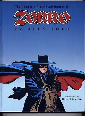 The Complete Classic Adventures of Zorro by Alex Toth NM 2001 Image 2nd Print