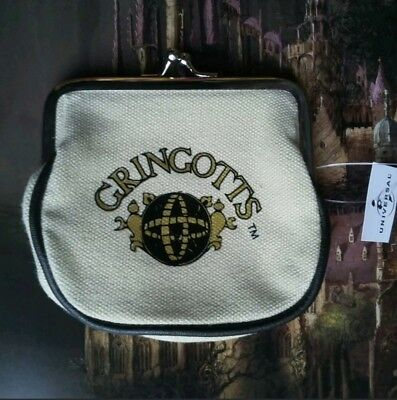 The Wizarding World Of Harry Potter Gringotts Coin Purse NWT