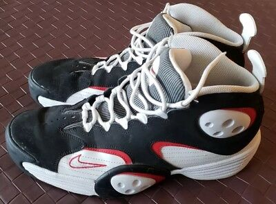 new style 190d3 d46fc Nike Flight One 1 Air Penny Hardaway 538133-101 Basektball Shoes Men s Size  11