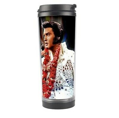 a799897bbec Elvis Presley Stainless Steel Travel Tumbler Coffee Mug Cup 156625051