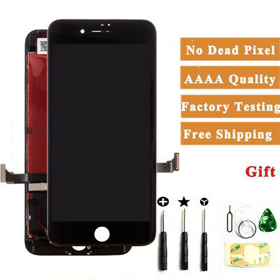 For iPhone 7 LCD Touch Screen Assembly Replacement Black A1660, A1778, A1779