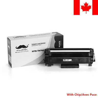 Moustache® TN760 Black Toner Cartridge For Brother HL-L2370DWXL MFC-L2750DWXL
