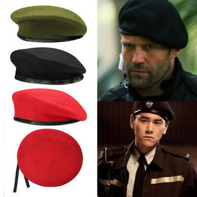 ee669ae72ac7b US Unisex Military Style Tactical Classic Army Beret Mens Uniform Cap Wool  Hat