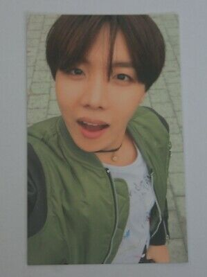 BTS 4th Mini IN THE MOOD FOR LOVE HYYH Pt.2 Official RUN PhotoCard J-Hope