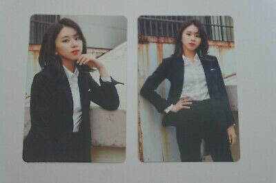 (Lot of 2) TWICE Fan Meeting ONCE BEGINS Official Photocard Chaeyoung B Black