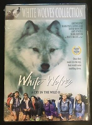 WHITE WOLVES - A CRY IN THE WILD II DVD Brand New AMI DOLENZ